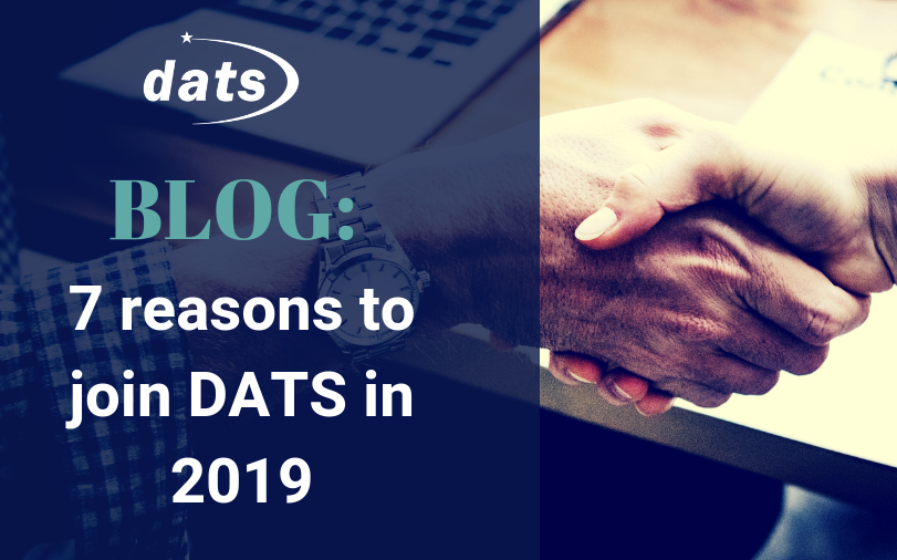 7 reasons to join DATS in 2019