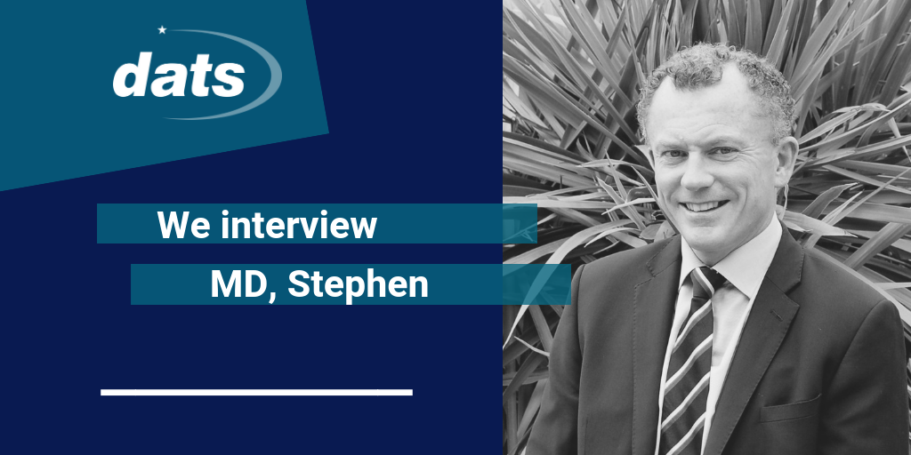 An interview with MD, Stephen